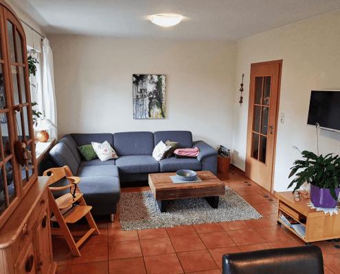 Ferienwohnung Rose Wohnzimmer