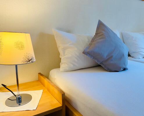 Ferienwohnung Rose Schlafzimmer