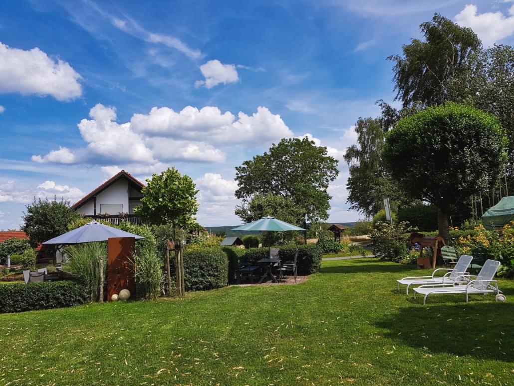 Garten Ferienhof Sennert