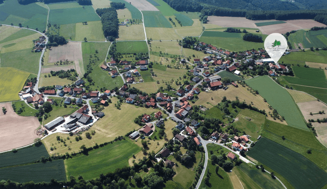 Luftaufnahme Preunschen